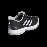 Alternate View 4 of Adizero Club Kids Tennis Shoe - Black/White