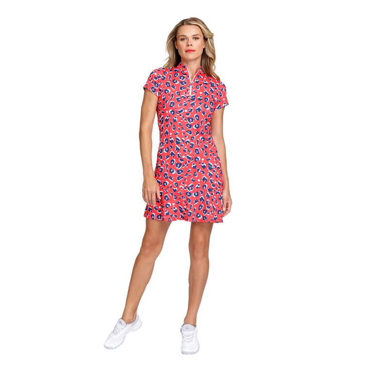 Fun in the Sun Collection: Neale Short Sleeve Cheetah Dress