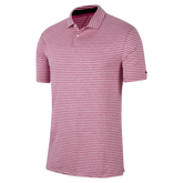 Tiger Woods Vapor Men's Striped Golf Polo