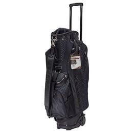 Women's Cart Bag with Handle & Wheels