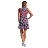 Alternate View 5 of Huntington Collection: Crosby Sleeveless Floral Print Dress