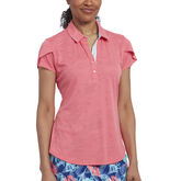 Rose Group: Short Sleeve Jaquard Polo