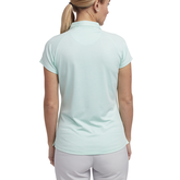 Alternate View 2 of Limelight Collection: Short Sleeve Tonal Stripe Polo