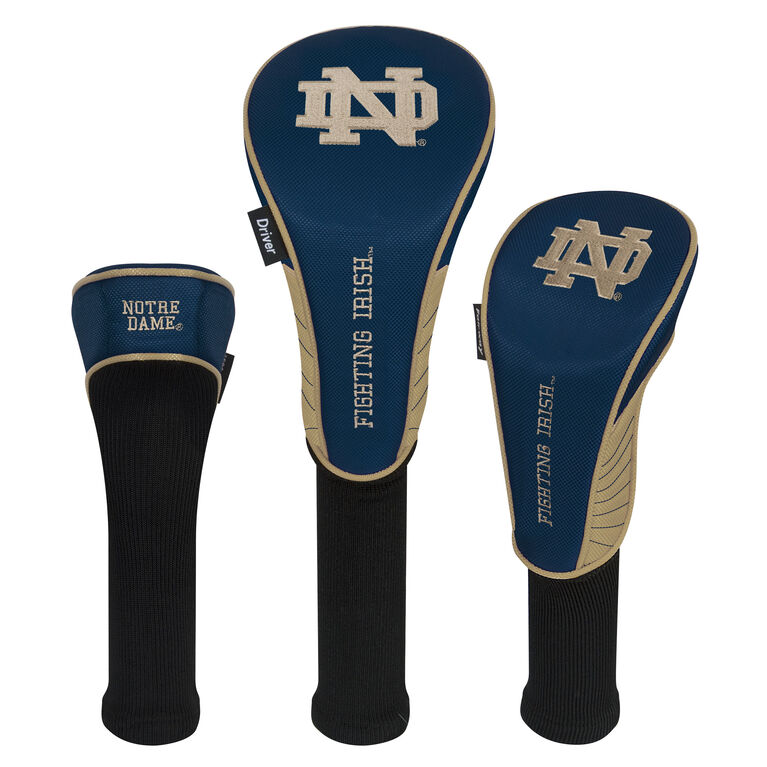 Team Effort Notre Dame Fighting Irish Headcover Set of 3