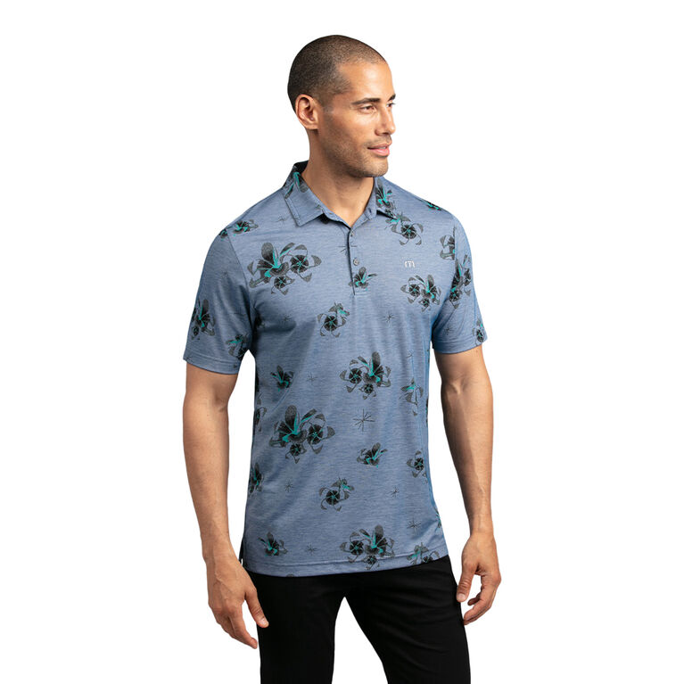 Speed Runner Floral Polo