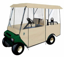 Classic Cart Accessories - 4 Passenger Cart Enclosure