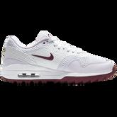 Alternate View 1 of Air Max 1 G Women's Golf Shoe - White/Purple