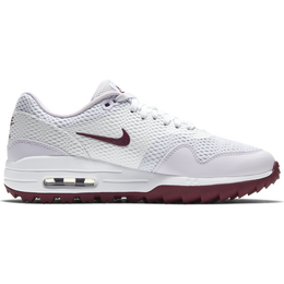 Air Max 1 G Women's Golf Shoe - White/Purple