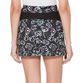 "PGA TOUR 16"" Watercolor Floral Print Skort"