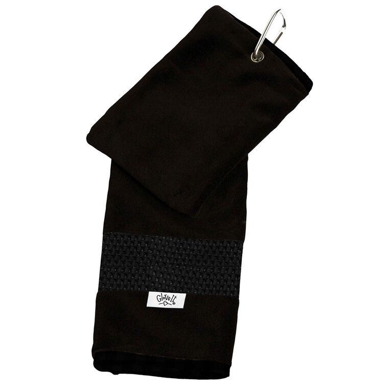 Glove It Black Mesh Towel