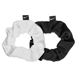DRI-FIT Gathered Hair Tie 2-Pack - Black/White