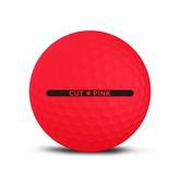 Alternate View 3 of Cut Matte Pink Golf Balls