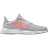 Gamecourt Men's Tennis Shoes - Grey/Red