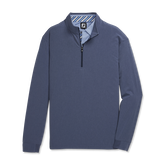 Alternate View 3 of Tonal Print Woven Quarter-Zip Mid-Layer Pullover