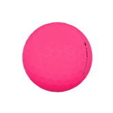 Alternate View 2 of Supersoft Matte Pink Golf Balls - Personalized
