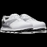 Alternate View 3 of PRO|SL BOA Men's Golf Shoe - White/Grey