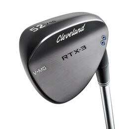RTX 3.0 Black Satin Wedge w/ True Temper Shaft