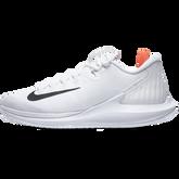 best service 5cc58 ecd82 ... White  NikeCourt Air Zoom Zero Women  39 s Tennis Shoe - ...