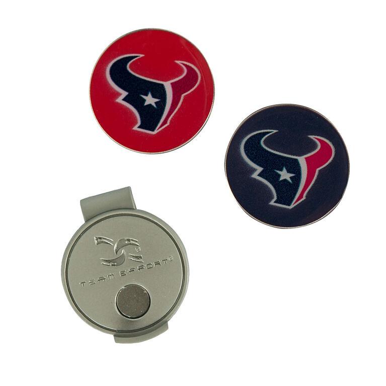 Team Effort Houston Texans Hat Clip & Ball Marker