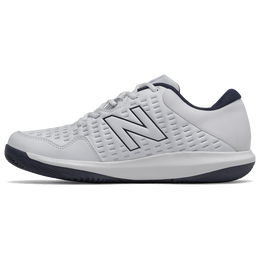 Men's 696V4 Tennis Shoe - White/Navy