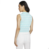 Alternate View 3 of Dri-FIT Women's Sleeveless Striped Golf Polo