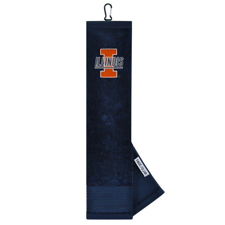Team Effort Illinois Fighting Illini TriFold Towel