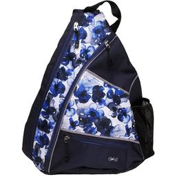 Indigo Poppy Pickleball Sling Bag