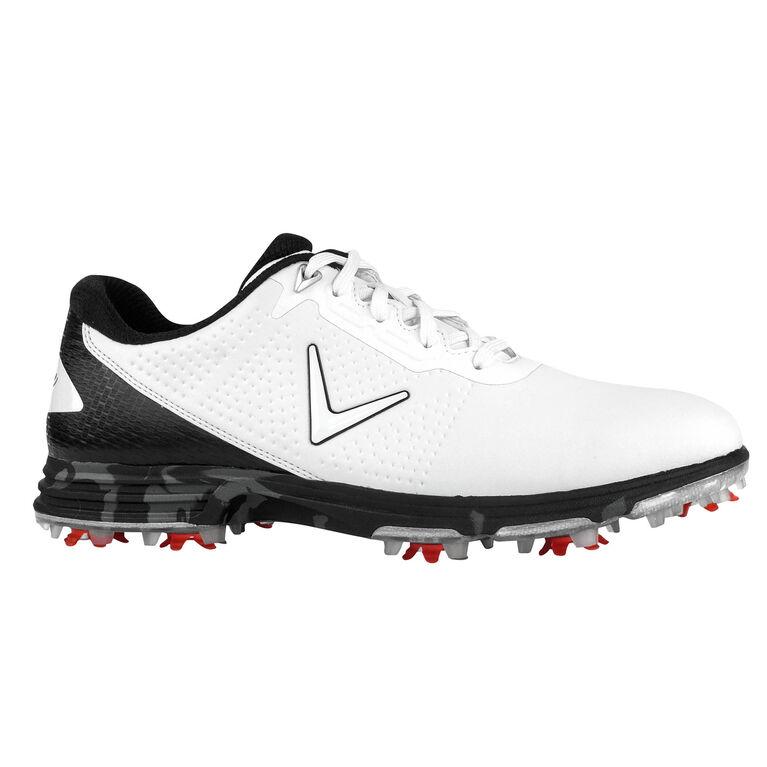 Coronado Men's Golf Shoe - White/Black