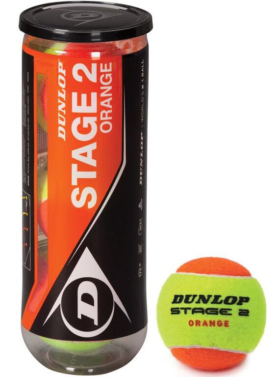 Dunlop Stage 2 Orange Tennis Balls