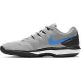 Alternate View 2 of Air Zoom Prestige Men's Tennis Shoe - Grey/Blue
