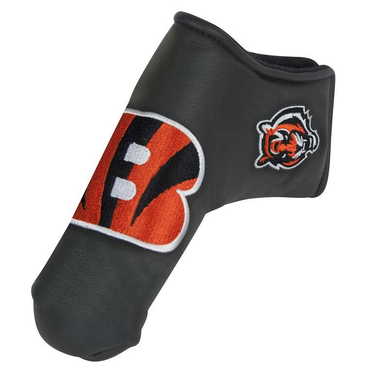 Team Effort Cincinnati Bengals Black Blade Putter Cover