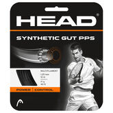 Head Synthetic Gut PPS 17G - Black