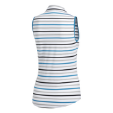 Alternate View 8 of Ultimate365 Sleeveless Stripe Polo Shirt
