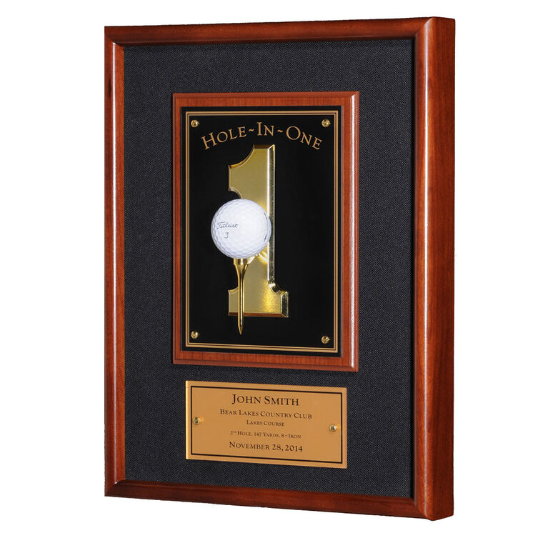 Morell Hole-In-One Plaque - Black