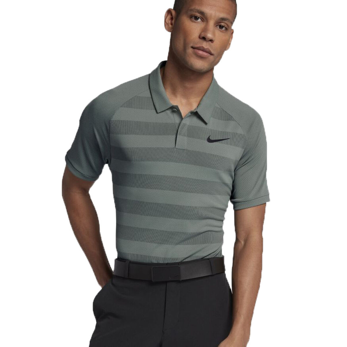 5c77a4975d88 Nike Zonal Cooling Stripe Golf Polo