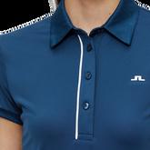 Alternate View 2 of Mona Short Sleeve Side Print Polo Shirt