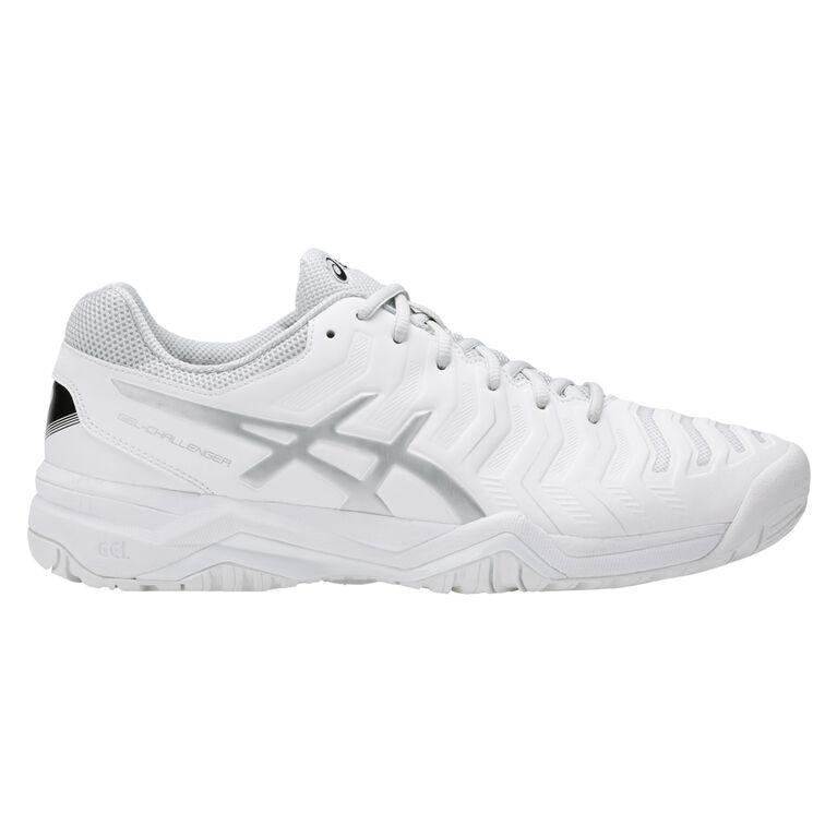 Asics GEL-Challenger 11 Men's Tennis Shoe - White/Silver