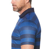 Alternate View 2 of Engineered Rugby Stripe Short Sleeve Polo Golf Shirt