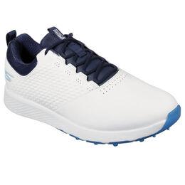 GO GOLF Elite V.4 Men's Golf Shoe - White/Navy