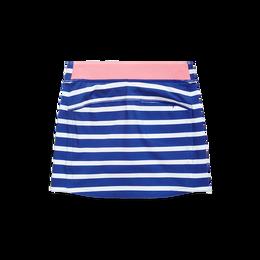 Performance Striped Toddler Girls Golf Skort