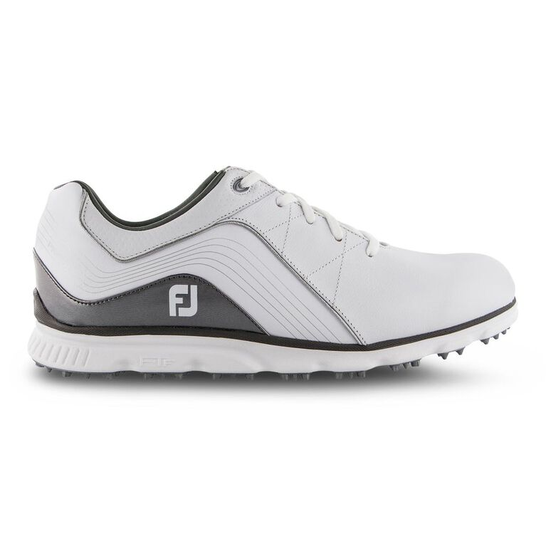 Pro/SL Men's Golf Shoe - White/Silver (Previous Season Style)