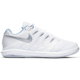 Air Zoom Vapor X Women's Tennis Shoe - White/Blue