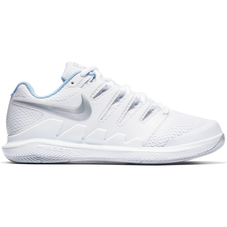 Air Zoom Vapor X Women's Tennis Shoe - White/Blue