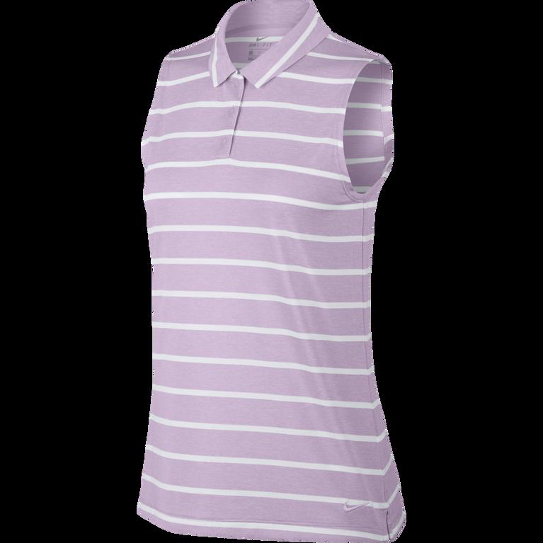 Dri-FIT Sleeveless Victory Stripe Polo
