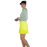 Alternate View 1 of Limonata Collection: Knife Pleated Golf Skort