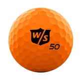 Alternate View 1 of Fifty Elite Orange Golf Balls