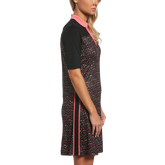Alternate View 2 of Ditsy Floral Collection: Mini Funfetti Floral Print Short Sleeve Golf Dress