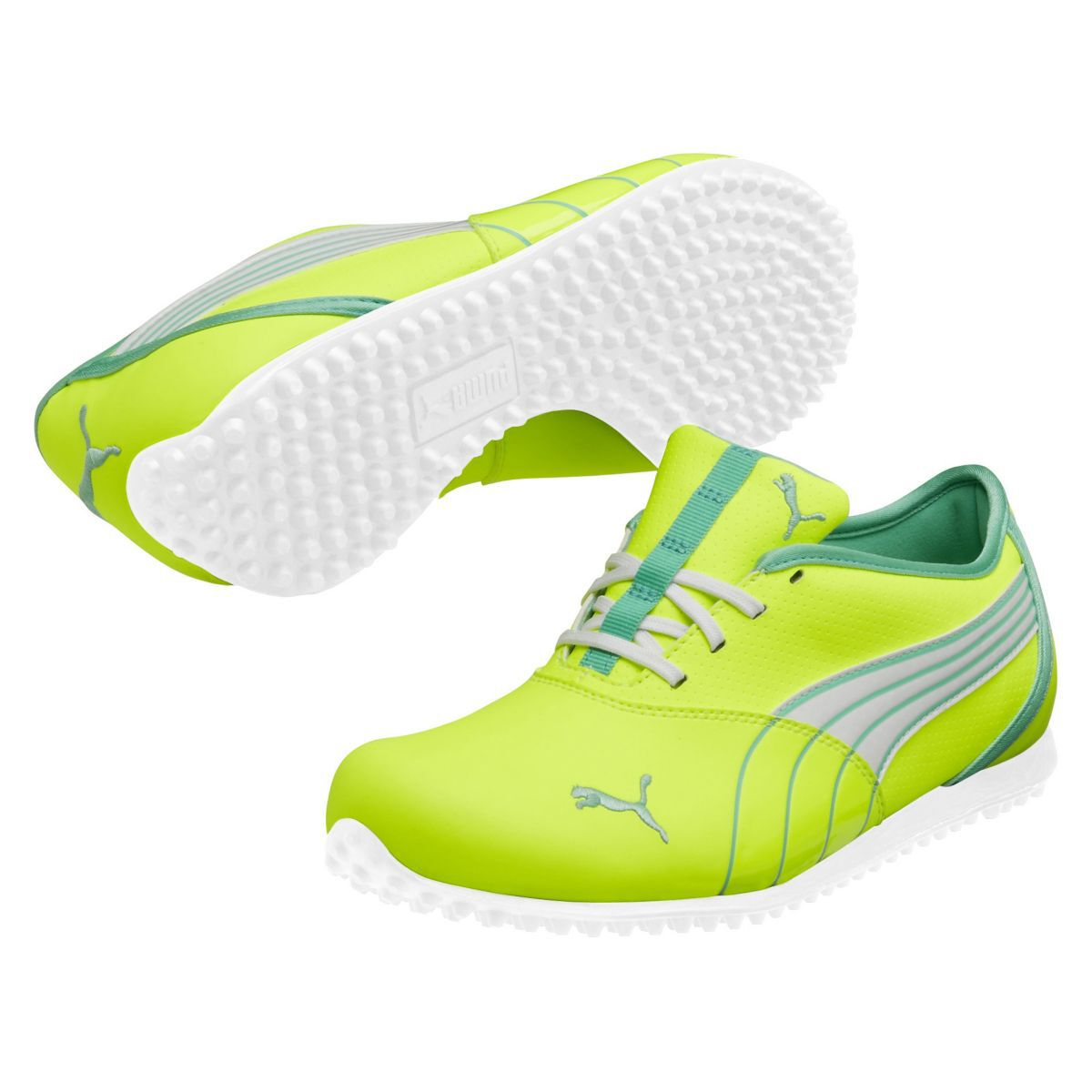 4ea4009dc15 PUMA Monolite Women s Golf Shoe - Fluro Yellow Electric