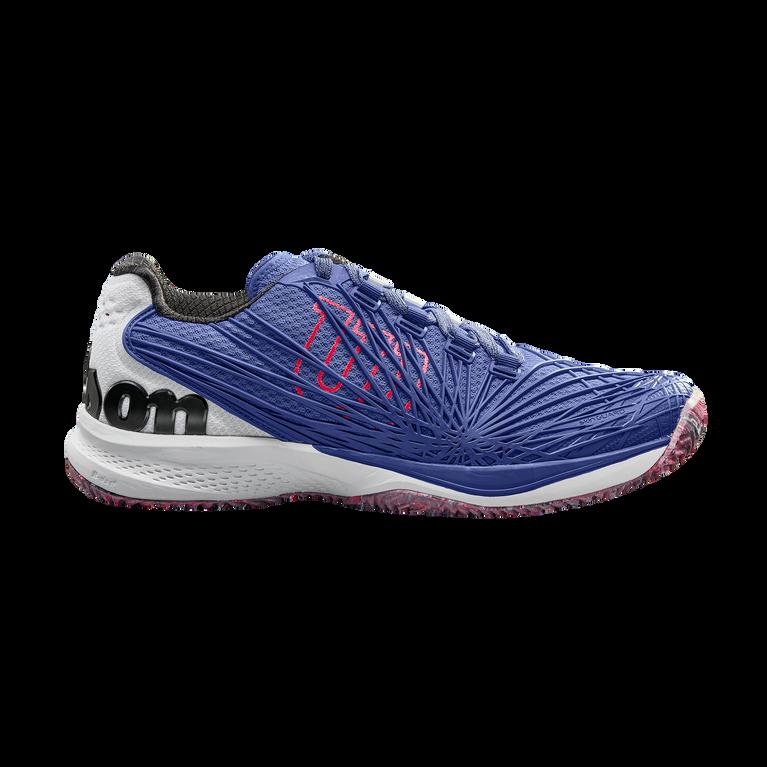 Wilson Kaos 2.0 Men's Tennis Shoe - Blue/White