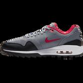 Alternate View 3 of Air Max 1 G Men's Golf Shoe - Grey/Red